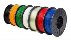Filament Roll Colors